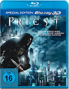 Priest - Special Edition Blu-ray 3D