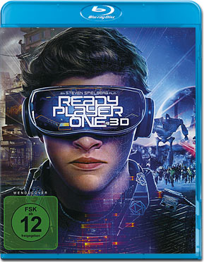 Ready Player One Blu-ray 3D