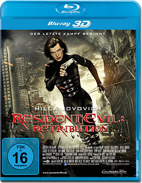 Resident Evil 5: Retribution Blu-ray 3D