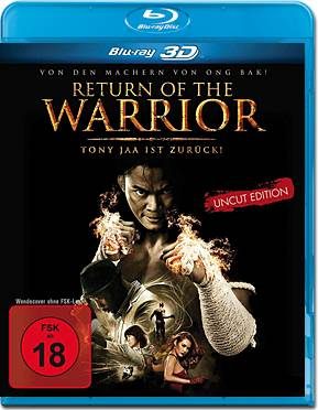 Return of the Warrior Blu-ray 3D