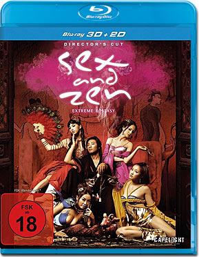 Sex and Zen: Extreme Ecstasy - Director's Cut Blu-ray 3D
