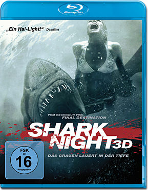 Shark Night Blu-ray 3D