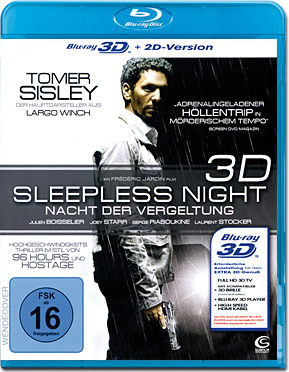 Sleepless Night: Nacht der Vergeltung Blu-ray 3D