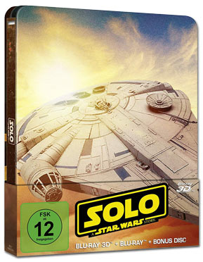 Solo: A Star Wars Story - Steelbook Edition Blu-ray 3D (3 Discs)