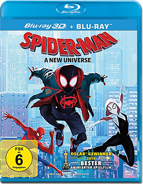 Spider-Man: A New Universe Blu-ray 3D (2 Discs)