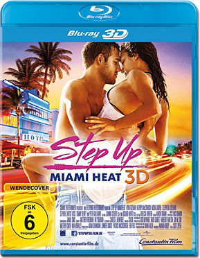 Step Up 4: Miami Heat Blu-ray 3D
