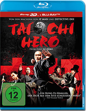 Tai Chi Hero Blu-ray 3D