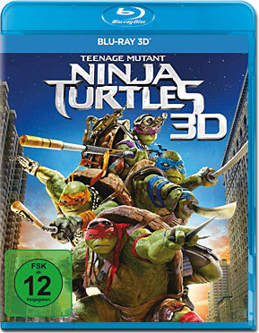 Teenage Mutant Ninja Turtles (2014) Blu-ray 3D