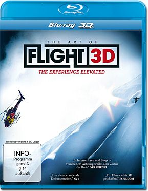 The Art of Flight Blu-ray 3D
