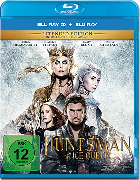 The Huntsman & The Ice Queen Blu-ray 3D (2 Discs)