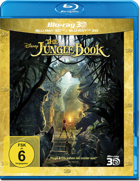 The Jungle Book Blu-ray 3D (2 Discs)