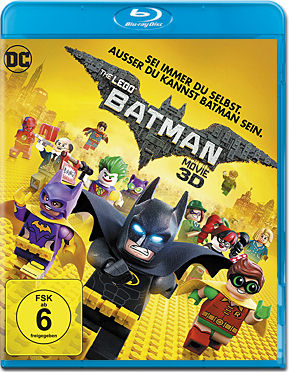 The LEGO Batman Movie Blu-ray 3D