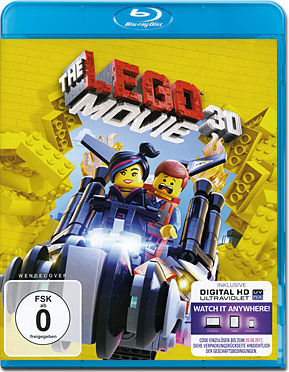 The LEGO Movie Blu-ray 3D