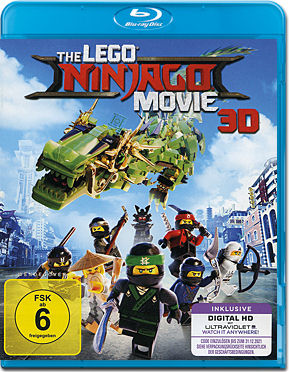 The LEGO Ninjago Movie Blu-ray 3D