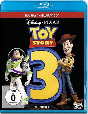 Toy Story 3 Blu-ray 3D (3 Discs)