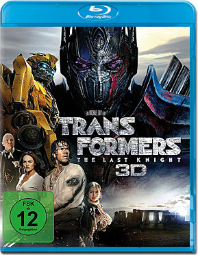 Transformers 5: The Last Knight Blu-ray 3D (2 Discs)