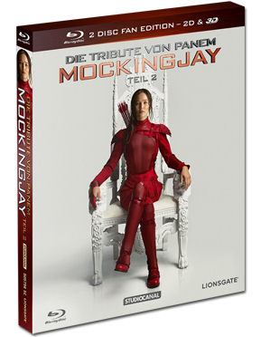 Die Tribute von Panem: Mockingjay Teil 2 - Fan Edition Blu-ray 3D (2 Discs)
