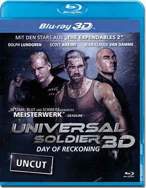 Universal Soldier: Day of Reckoning Blu-ray 3D