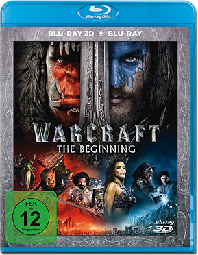 Warcraft: The Beginning Blu-ray 3D (2 Discs)