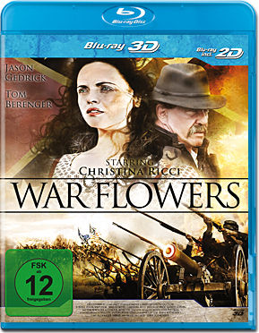 War Flowers Blu-ray 3D