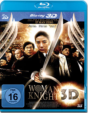 Woman Knight Blu-ray 3D