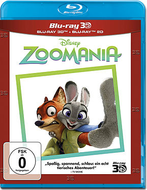 Zoomania - Steelbook Edition Blu-ray 3D (2 Discs)
