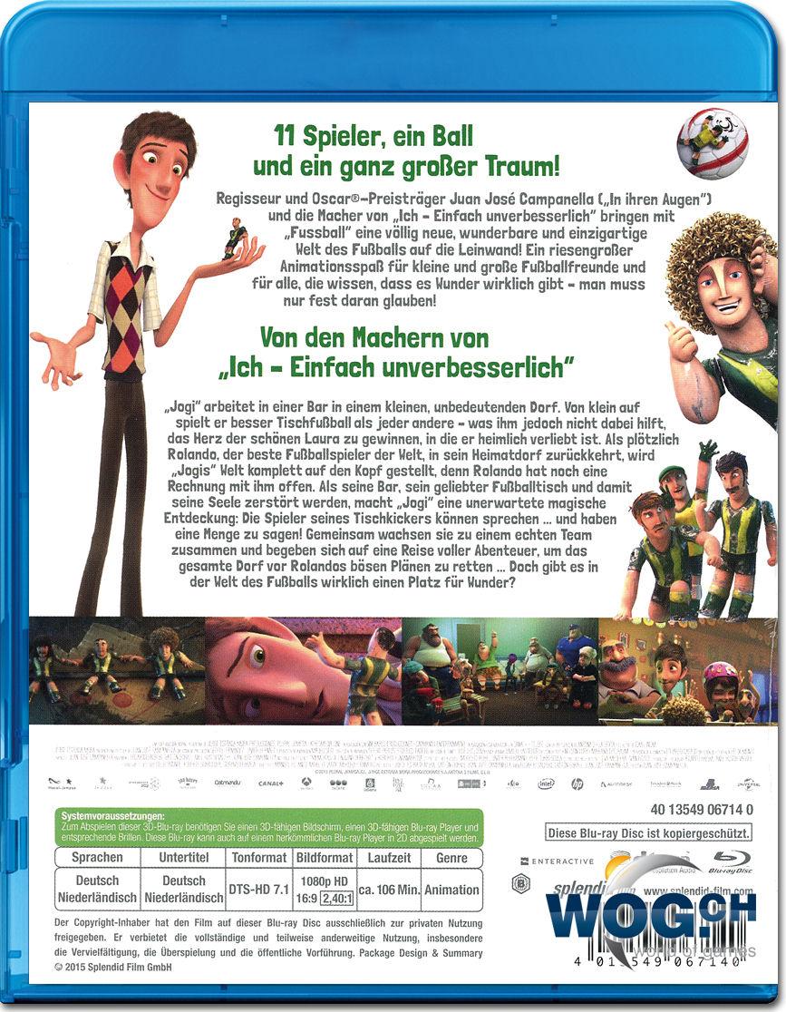 Fussball Grosses Spiel Mit Kleinen Helden Blu Ray 3d Blu Ray 3d