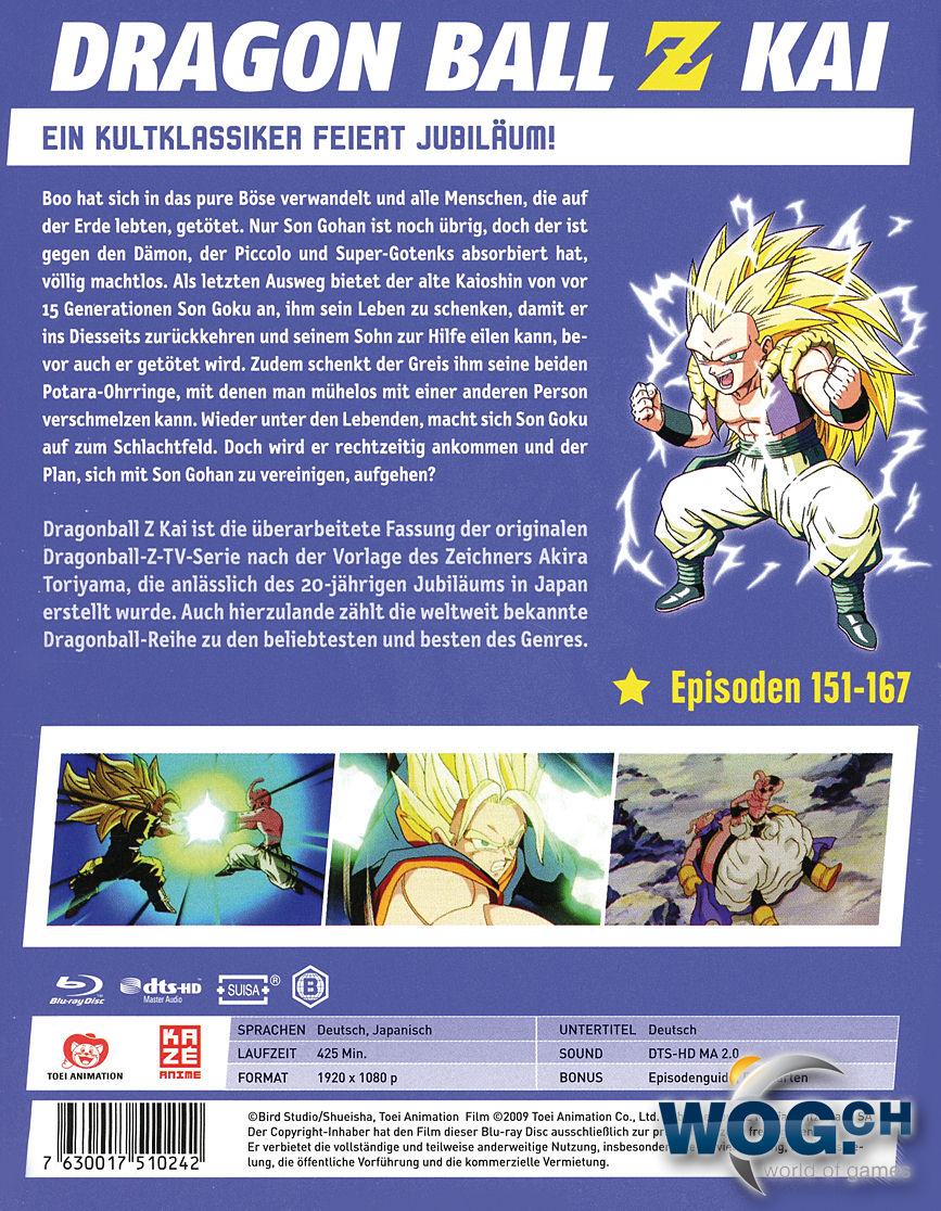 Dragonball Z Kai Box 10 Blu-ray (2 Discs) [Anime Blu-ray] • World of ...