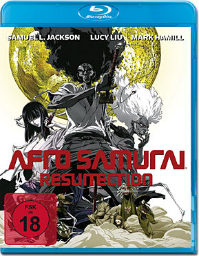 Afro Samurai 2: Resurrection - Special Edition Director's Cut Blu-ray