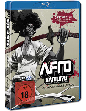 Afro Samurai - The Complete Murder Sessions Blu-ray (2 Discs)