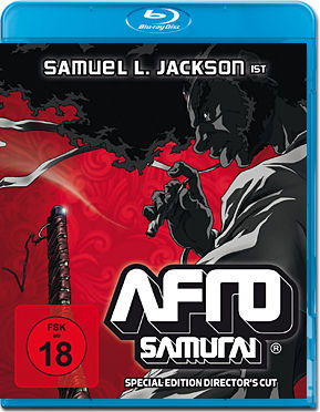 Afro Samurai 1 - Special Edition Director's Cut Blu-ray