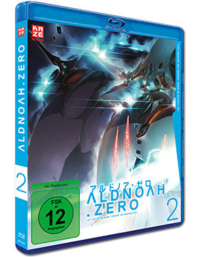 Aldnoah.Zero Vol. 2 Blu-ray