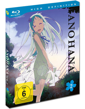 AnoHana Vol. 2 Blu-ray