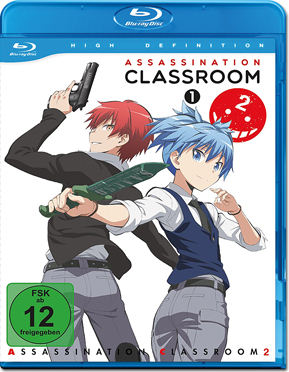Assassination Classroom II Vol. 1 Blu-ray