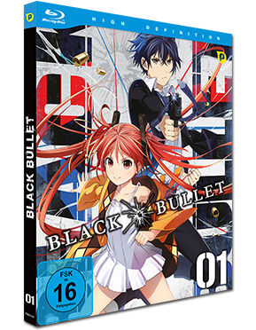 Black Bullet Vol. 1 Blu-ray