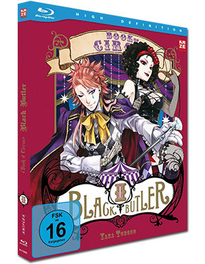 Black Butler: Book of Circus Vol. 2 Blu-ray