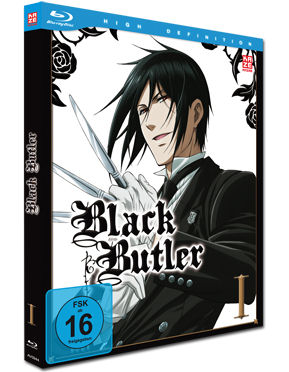Black Butler Vol. 1 Blu-ray