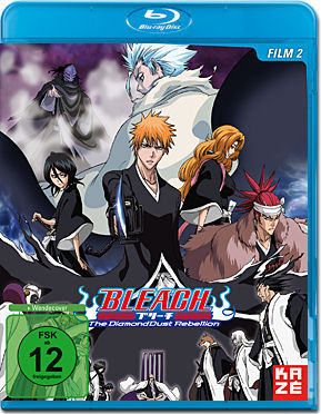 Bleach Movie 2: The Diamond Dust Rebellion Blu-ray
