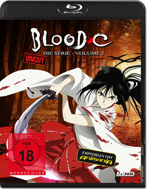 Blood-C Part 2 Blu-ray