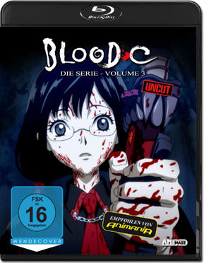Blood-C Part 3 Blu-ray