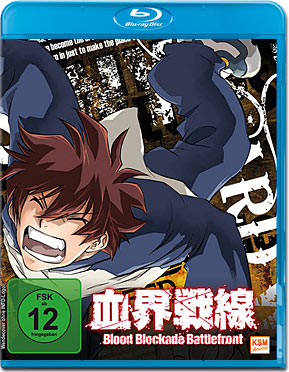 Blood Blockade Battlefront Vol. 1 Blu-ray