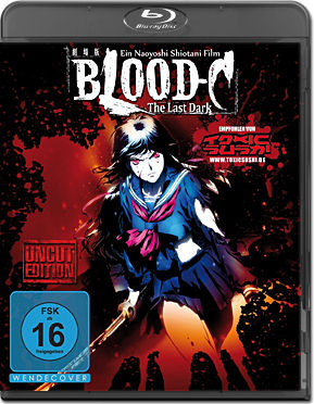 Blood-C: The Last Dark Blu-ray