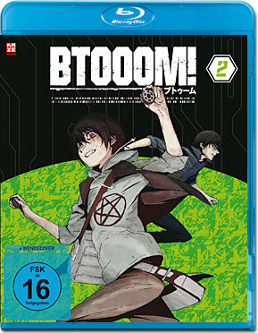 BTOOOM! Vol. 2 Blu-ray