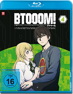 BTOOOM! Vol. 4 Blu-ray