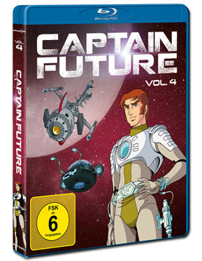 Captain Future Vol. 4 Blu-ray