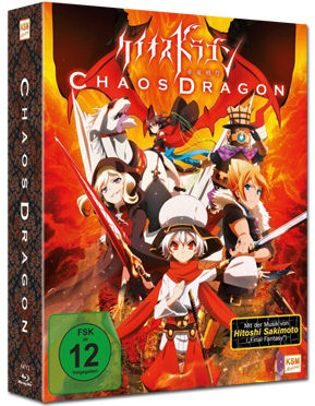 Chaos Dragon Vol. 1 - Limited Edition (inkl. Schuber) Blu-ray
