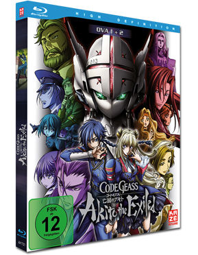 Code Geass: Akito the Exiled - Film 1+2 Blu-ray