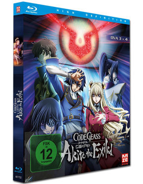 Code Geass: Akito the Exiled - Film 3+4 Blu-ray