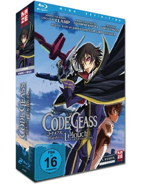 Code Geass: Lelouch of the Rebellion - Gesamtausgabe Blu-ray (2 Discs)
