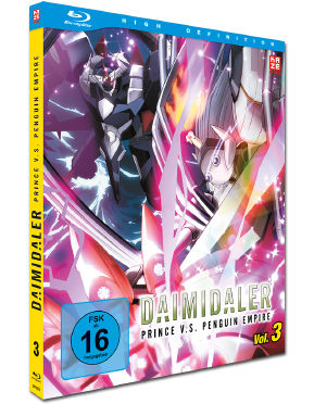 Daimidaler: Prince v.s. Penguin Empire Vol. 3 Blu-ray
